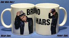 BRUNO MARS - Photo COFFEE/ TEA Mugs / Collectable