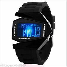 SKEMI Black Digital LED Watch