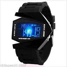 SKEMI Black Digital LED Watch