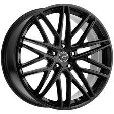 "Platinum 460BK Atonement 20x8.5 5x120 +40mm Gloss Black Wheel Rim 20"" Inch"