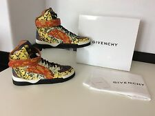 Givenchy Tyson Haute Multicolour high Top Sneakers Eu40 Uk 6, RRP £715, NEW