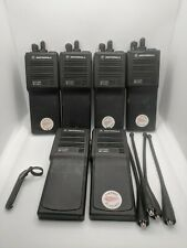 Motorola Mts 2000 H01Ucd6Pw1Bn Two Way Radios Lot of 6