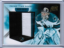 11/12 PANINI PRIME HARRI SATERI TIME ROOKIE JUMBO SEAMS PATCH 25 SAN JOSE SHARKS