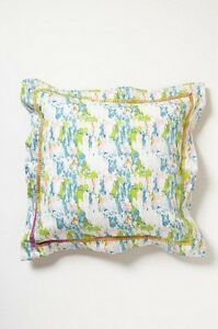 Anthropologie Tracy Reese Day Glow Collection Euro Sham