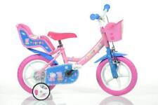 "Dino Peppa Pig Pink Kids Girls Bike Bicycle 12"" Mag EVA Wheel 1 Spd 124RL-PIG"