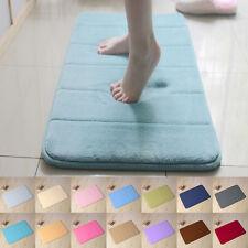 Bath Bathroom Bedroom Floor Shower Mat Memory Foam Rug Anti-skid Absorbent Soft
