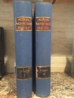 Modern Machine-Shop Practice by Joshua Rose 2 Volumes 1887 and 1888 Illustrated.