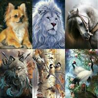 5D DIY Full Drill Square Diamond Painting Animal Embroidery Cross Stitch Kit Art