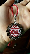 The Walking Dead rope and pendant necklace