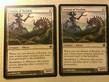 Artisan of Kozilek x2 NM MTG Magic English Rise of the Eldrazi Uncommon