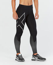 2XU Womens Reflect Compression Long Tights (black/silver Reflect) M Black/silver Reflective