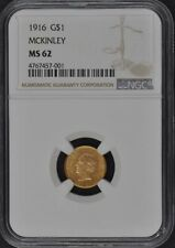 MCKINLEY 1916 Gold Commemorative G$1 NGC MS62