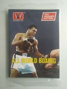 Muhammad Ali 1991 AW All World Boxing  Premier Edition Sealed Pack. SHIPS FREE