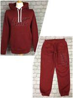 NIKE MENS CLUB OVERHEAD RED HOODIE HOODY JOGGERS TRACK PANTS SEPERATELY RRP £55