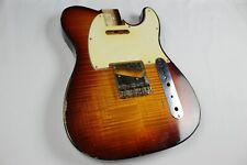 MJT Official Custom Vintage Age Nitro Guitar Body By Mark Jenny VTT Flame Maple