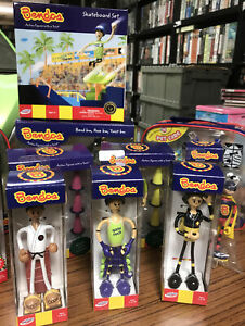 Joblot- Bendos Children Toys - COLLECTABLE. These Are New But Shop Soiled.