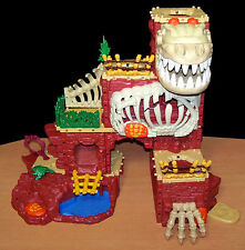 Huge Fisher-Price Imaginext Lot - T-Rex Mountain Playset (Almost Complete) +++