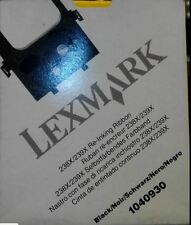 NASTRO NERO LEXMARK RIBBON 1040930 PER 238X/239X