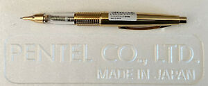 "Limited Edition Gold ""Skeleton"" Pentel 5 Sharp Kerry 0.5mm Mechanical Pencil"
