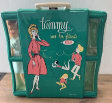 Vintage Tammy Doll  Green Telephone Case Clothing  BIG LOT