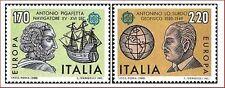 1980 ITALIA EUROPA UNITA FOLCLORE  2 VALORI   NUOVO ** MNH (C1489