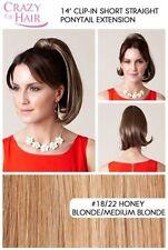 Perruques, extensions et matériel blonds courts bouclés pour femme
