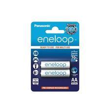 Piles batteries AA Panasonic eneloop BK-3MCCE 2x