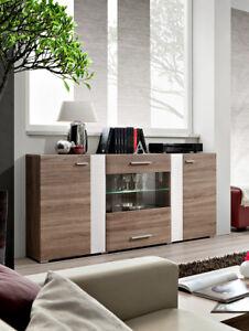 SB Akron -  Oak sideboard with 2 doors / modern dining room buffet cabinet