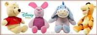 DISNEY BABY CLASSIC WINNIE THE POOH TIGGER PIGLET OR EEYORE PLUSH TOY OFFICIAL