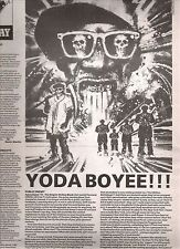 PUBLIC ENEMY Empire Strikes Back album review  1991 UK ARTICLE / clipping