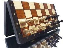 """Excelente """"grande magnético"""" juego de ajedrez de madera de 35 X 35 Cm-hermoso apariencia!!!"""