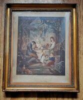 "quadro Incisione Francesco Bartolozzi ""Parental affection"" 1775 -70%"