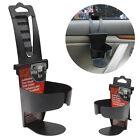 Black Universal Vehicle Car Truck Door Mount Drink Bottle Cup Holder Stand NEW