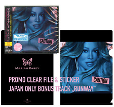 JAPAN CLEARFILE+BONUS TRACK+STICKER! MARIAH CAREY CAUTION CD sent20.11fromBERLIN
