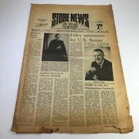 Store News The Village Newspaper 5/5/76 Stephen Foley Announces For US Senate