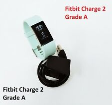 Fitbit Charge 2 Heart Rate Fitness Sleep Tracker Teal Small Grade A