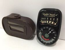 Weston Master II universal exposure meter w/case model 735