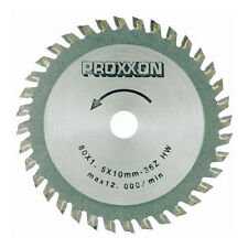 Proxxon 28732 3-9/64-Inch 80mm Carbide Tipped Saw Blade 36-Teeth