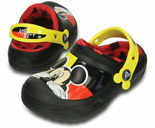 Creative Crocs Kids Mickey Mouse Fuzz Lined Clog - NEW w Box - Little Kid Size 2