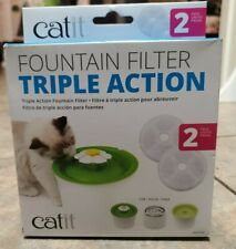 Catit Triple Action Fountain Filter 2ct