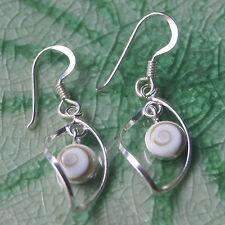 Earrings Sterling silver Shiva eye cool