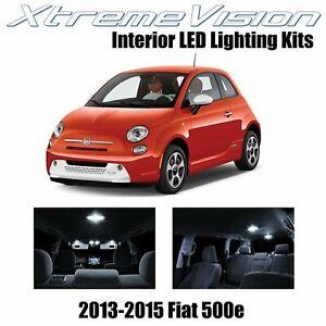 XtremeVision LED for Fiat 500e Electric car 2013-2015 (3 Pieces) Pure White Prem