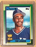 1990 Topps TOM GORDAN All-Star Rookie Gold Cup #752 Kansas City Royals