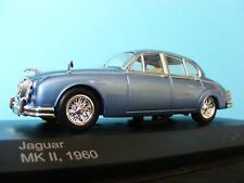 Jaguar MkII 1960 in Met Blue with Magnola interior  1:43RD Scale Whitebox Model