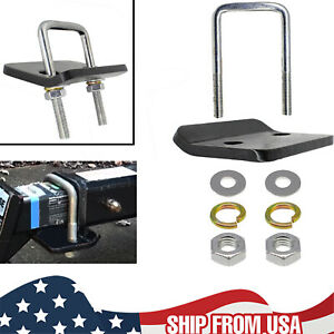 Hitch Mount Cargo Carrier Anti Rattle Hitch Tightener Stabilizer Towing U Type