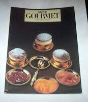 Ricettario Grand Gourmet Rivista internazionale alta cucina N° 8 1984