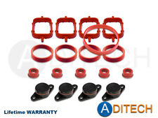 4 x 22 mm Swirl Flap Blanks Repair Kit Manifold with Gaskets for BMW M47