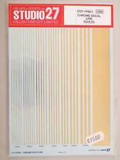 Studio 27 Chrome Decal A Line (Gold) ST27-FP0011 modellismo