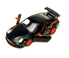 Kinsmart 2010 Porsche 911 997 GT3 RS 1:36 Scale Diecast Toy Model Car Black
