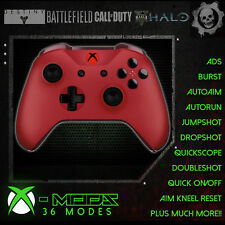 XBOX ONE RAPID FIRE CONTROLLER - BEST MOD ON EBAY!! Red - Red LED Blackout